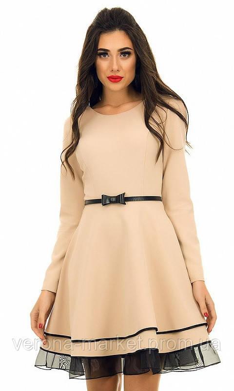 e59eb8cddf1 Оригинальное женское платье с фатином  продажа