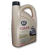 K2 Антифриз TURBO KULER -35C 5л RED G12/G12+