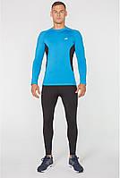 Мужской компрессионный спортивный костюм для бега Radical Intensive, тайтсы и рашгард + шапка в подарок!