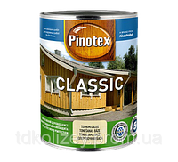 Pinotex classic. Фасадная краска для дерева.(Алкидная) 1л