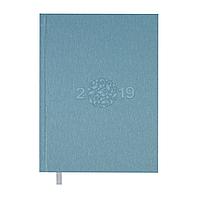 Ежедневник датированный 2019 GLORY, A5, 336 стр., голубой 2179-14 , фото 1