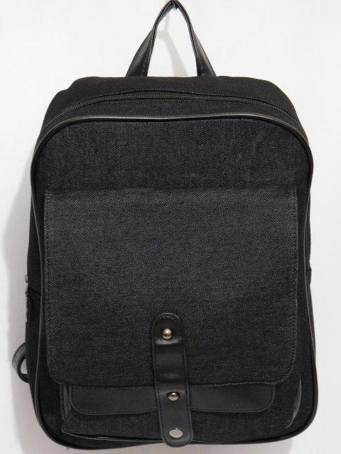 Джинсовый рюкзак черный