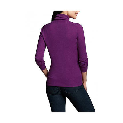 Пуловер женский Eddie Bauer Womens Christine Turtleneck Sweater HTR MULBERRY, фото 2