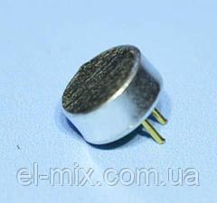 Микрофон электретный d6.0 h2.7 с ножками, Китай