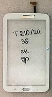 Сенсор (тачскрін) для планшета Samsung Gelaxy Tab3 T211, T210 3G original, білий