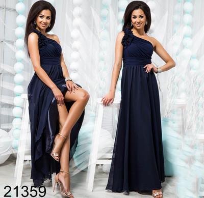 f42e6568601 Купить Вечернее женское платье с завышенной талией 821359 Украина ...