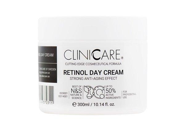 ClinicCare SILKY RETINOL DAY CREAM 300мл. (денний крем з ретинолом)