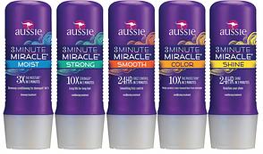 Кондиционер-маска для волос AUSSIE 3 Minute Miracle Moist Deep Conditioner 475 мл, фото 2