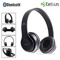 Bluetooth наушники беспроводные Gelius Crossfire P47 (microSD, FM, HF)
