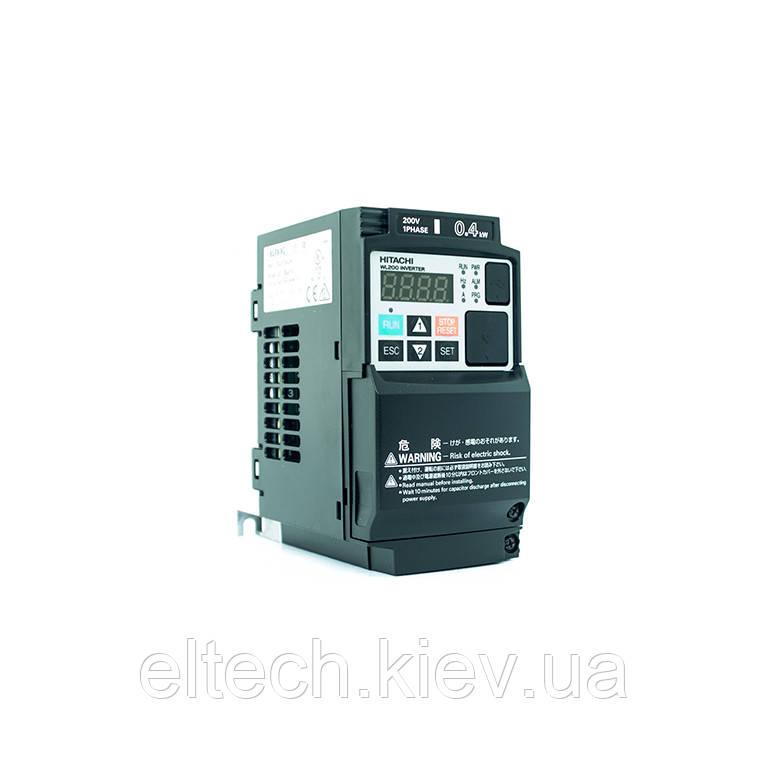 Частотный преобразователь Hitachi WL200-004SFE, 0.4кВт, 220В