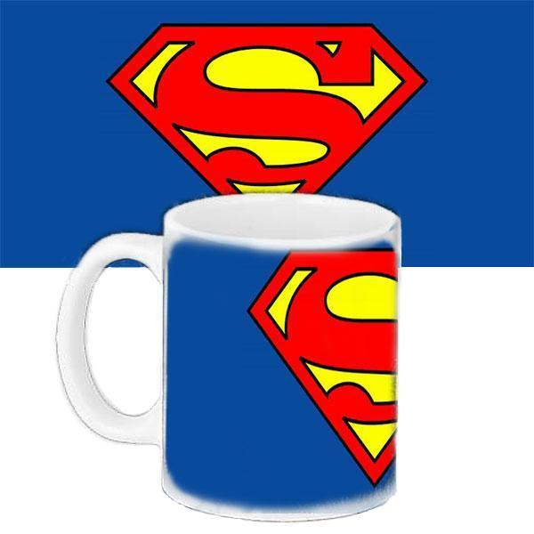 Чашка Moderika белая с рисунком Супермен (33295)