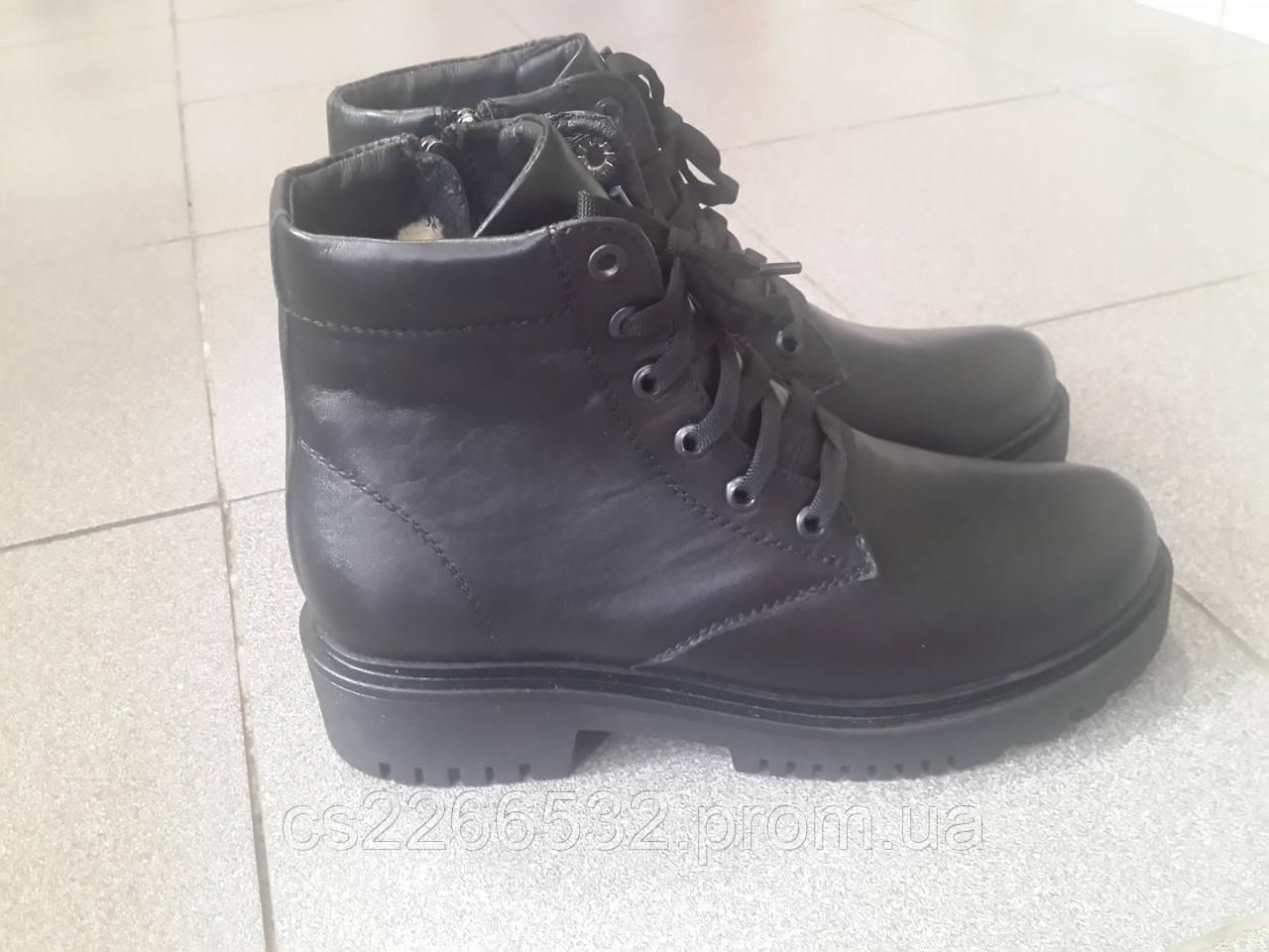 74e74ee50 Женские кожаные ботинки зима: продажа, цена в Виннице. ботильоны ...