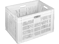 Ящики пластиковые для хлеба 600 x 400 x 420 Белый (первичный)