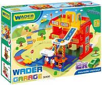 Детская парковка Гараж с дорогой Wader (50400)
