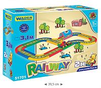 Детская железная дорога 3,1 м Wader (51701)