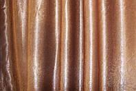 Шторная ткань блекаут-софт, с атласной основой. Высота 2,8м. Цвет коричневый. Код 095ш, фото 1
