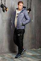 Костюм мужской теплый зимний на синтепоне найк 48,50,52,54, фото 1