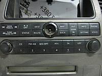Панель управления магнитолой Nissan Navara D40 (28395 EP005), фото 1