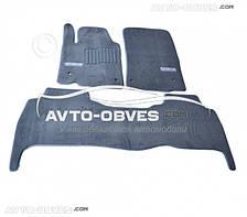 Коврики для Lexus LХ570 2007-2012 Серые, Premium || материал - ворс