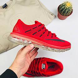 """Мужские кроссовки Nike Air Max 2016 """"Red"""" (люкс копия)"""