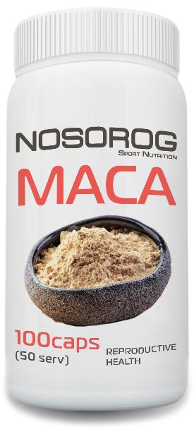 Экстракт мака в капсулах NOSOROG Nutrition MACA 100 caps