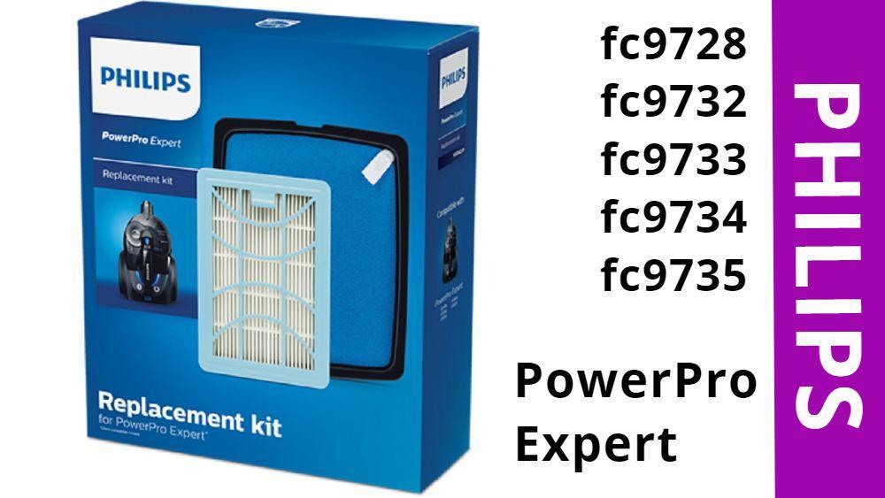 Оригинал Philips PowerPro Expert FC9728, FC9732, FC9733, FC9734, FC9735 фильтр на контейнерные пылесосы циклон, фото 1