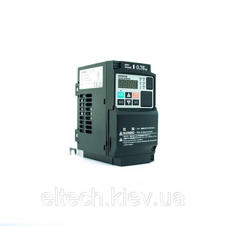 Частотник Hitachi WL200-007SFE, 0.75кВт, 220В