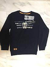 Детский реглан (футболка с длинным рукавом) BLUELAND, т. синий