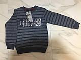 Детский свитер BLUELAND, полоска, серый, фото 7