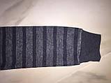 Детский свитер BLUELAND, полоска, серый, фото 3