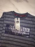 Детский свитер BLUELAND, полоска, серый, фото 5