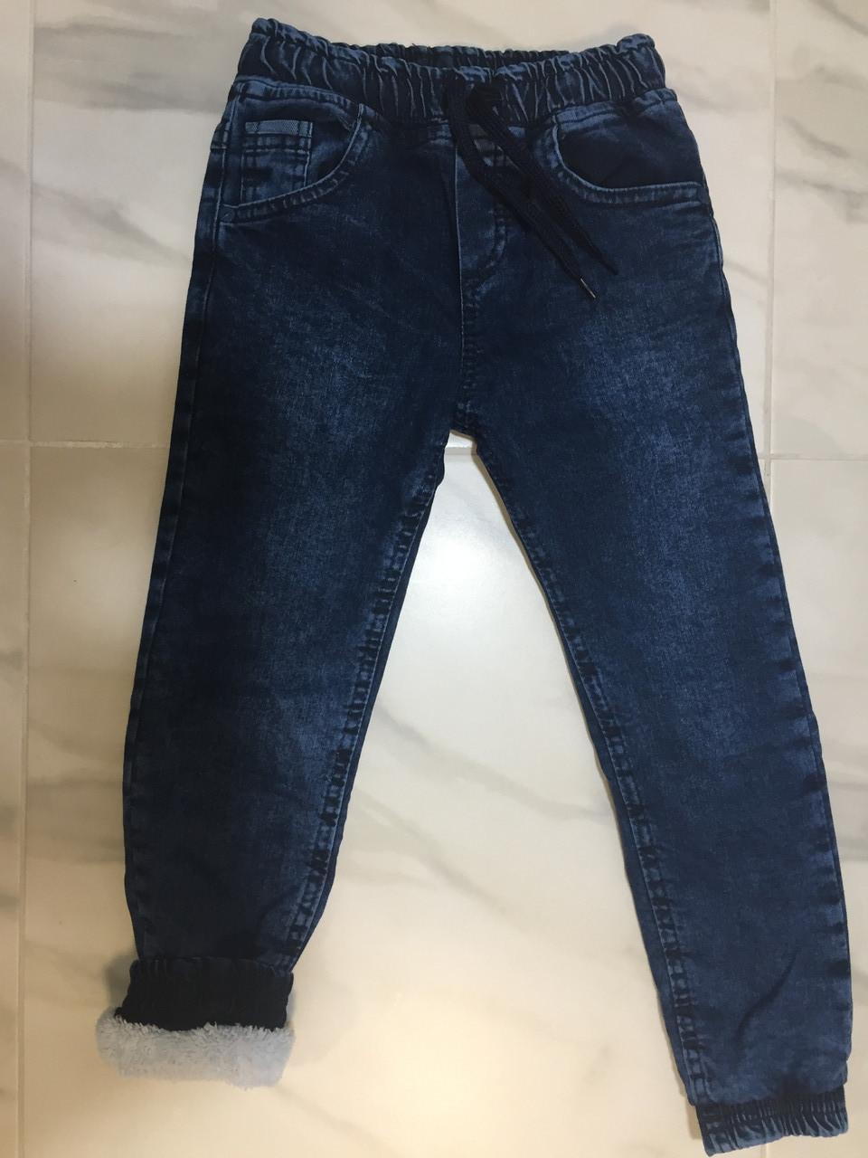 Утепленные джинсы на мальчика HIWRO, 5-8 лет