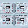 Амперметр вольтметр в корпусі 100В 50А + шунт, фото 7