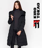 Куртка удлиненная зимняя женская Киро Токао - DR23K черная