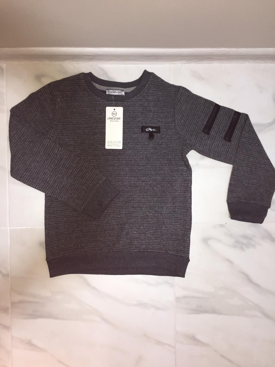 Детский свитер REVER, серый, фото 1