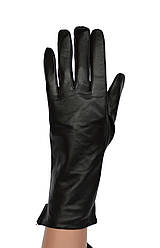 Женские кожаные перчатки с нейлоновой подкладкой удлиненные