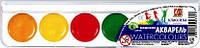 """Акварель 6 цветов медовая """"Классика"""" в пластиковой упаковке 19С1282-08"""