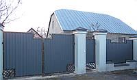 Ограждения закрытые профнастилом (790)., фото 1