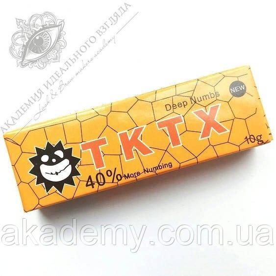 Крем анестетик TKTX 40%, 10 г (оранжевый)
