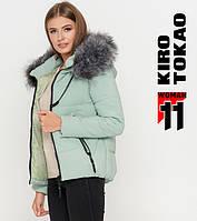 Kiro Tokao 6529   Куртка женская зимняя мята