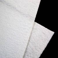 Фетр 2 мм с глиттером белый 22,9*30,5 см