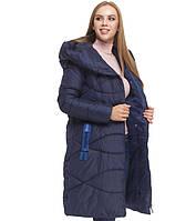Куртка удлиненная зимняя женская Tiger Force - 5058L синяя