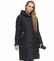 Куртка удлиненная зимняя женская Tiger Force - 5058Y черная