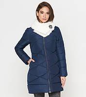 Куртка удлиненная зимняя женская Tiger Force - 5266D синяя