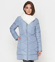 Куртка удлиненная зимняя женская Tiger Force - 5266W голубая