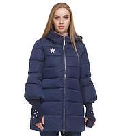 Куртка удлиненная зимняя женская Tiger Force - 5219N синяя