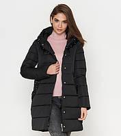 Куртка удлиненная зимняя женская Tiger Force - 9105Q черная