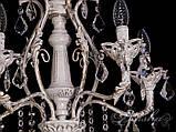 Красивая люстра с хрустальными подвесками 5632/5 , фото 4