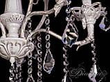 Красивая люстра с хрустальными подвесками 5632/5 , фото 5