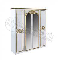 Шкаф Ева 4Д с зеркалом Миро-Марк